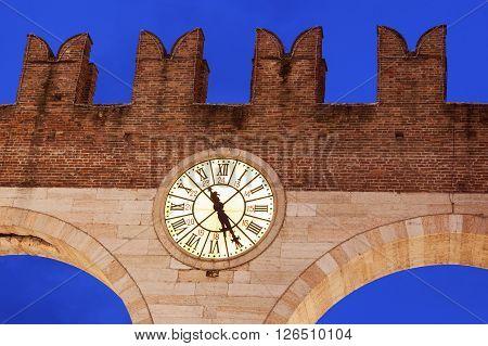 Bra Gate in Verona. Verona Veneto Italy