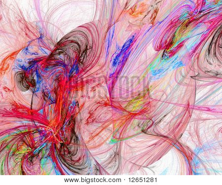 "fantastic colorful infernal hell  - See similar images of this ""Fractal Art"" series in my portfolio"