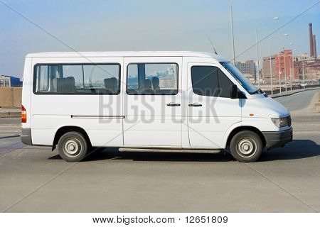 """shuttle bus  - See similar images of this """"Business vehicles"""" series in my portfolio"""
