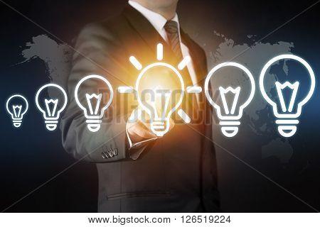 New ideas - Bulb concept high quality studio shot