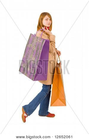"big bags - happy shopping - See similar images of this ""Gorgeous shopping women"" series in my portfolio"