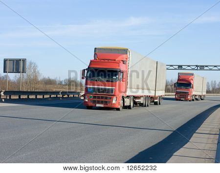 "two trucks  - See similar images of this ""Business vehicles"" series in my portfolio"