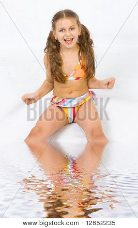 "girl having a bath in water - See similar images of this ""Active People"" series in my portfolio"