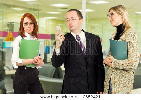 "workgroup  - See similar images of this ""Business People"" series in my portfolio"