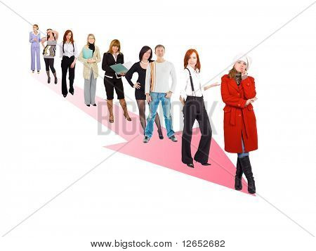 """moving the right direction  - See similar images of this """"Business Concepts"""" series in my portfolio"""