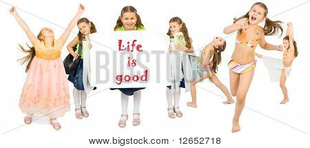 "life is good - See similar images of this ""Active People"" series in my portfolio"