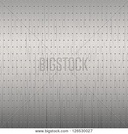 Brushed metal background. Vector metallic texture for your design and ideas,