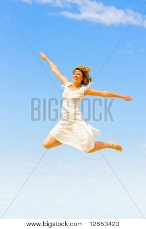 """i can fly! -  of  """"Girls on a Beach"""" series in my portfolio"""