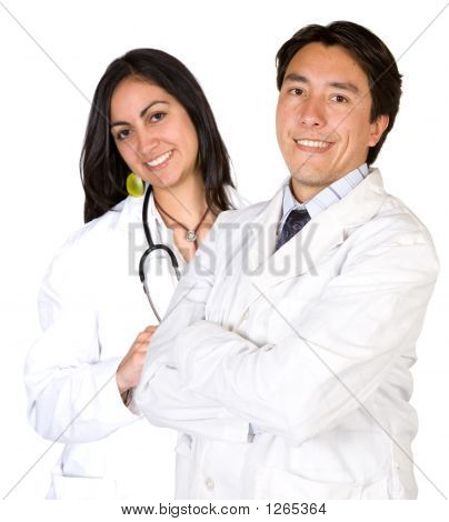 Latin American Doctors - Male And Female