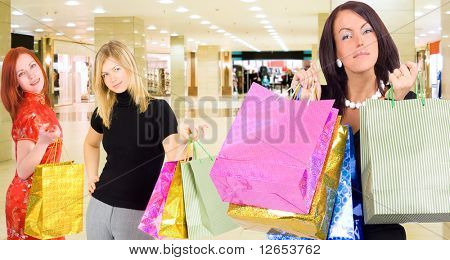 """that's what we've bought -  of  """"Gorgeous shopping women"""" series in my portfolio"""