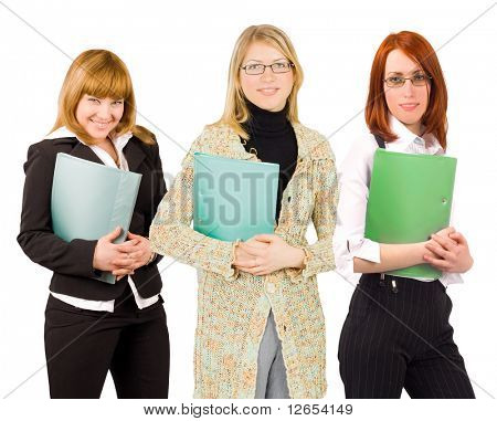 "we are love to be office slaves  -  of ""Business women"" series in my portfolio"