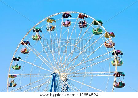 viewing wheel isolated