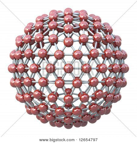 Spherical molecular grid