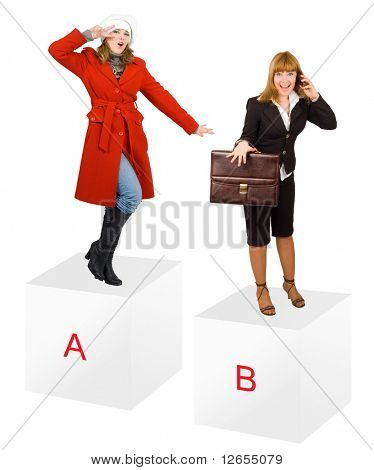 "a and b -  of ""Business Concepts"" multiple series in studioâ??s portfolio"