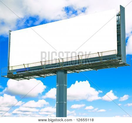 "your ad should be here -  of ""Blank Billboards"" multiple series in studioâ??s portfolio"