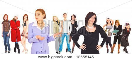 "team work -  of ""Business women"" multiple series in studioâ??s portfolio"