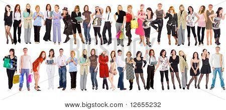"""50 people -  of  """"Groups of people"""" multiple series in studioâ??s portfolio"""