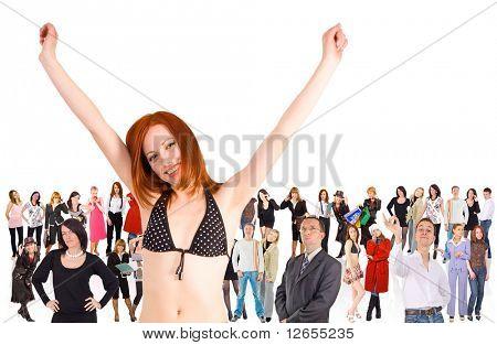 "we rock! -  of  ""Groups of people"" multiple series in studioâ??s portfolio"