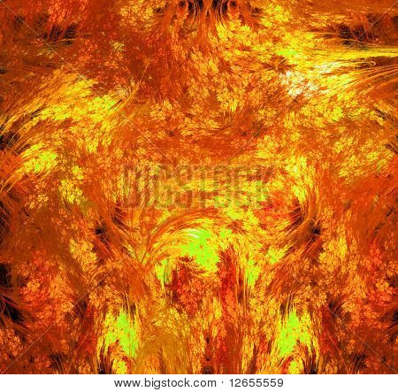 raging infernal fires