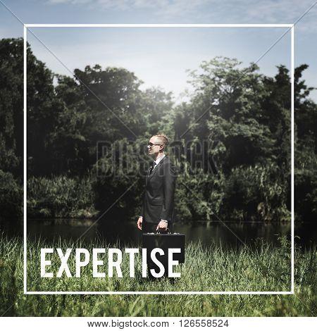 Expertise Expert Skilled Intelligence Concept