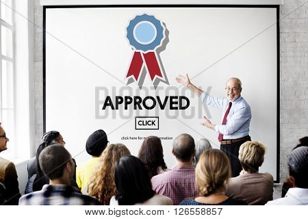 Approved Accept Agreement Authority Document Concept