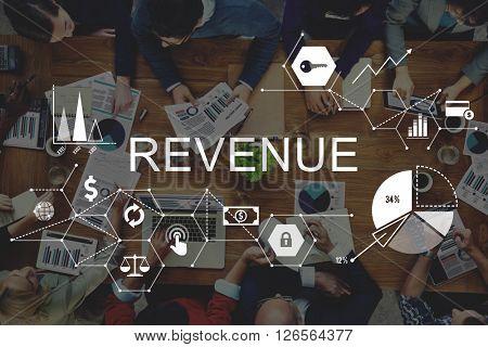 Revenue Income Money Profit Costs Budget Banking Concept