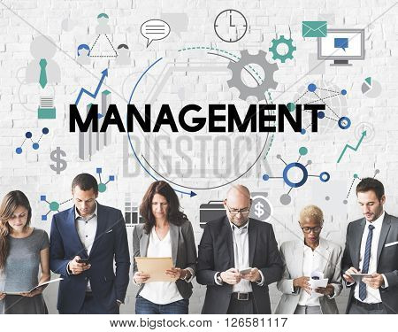 Management Controlling Business Corporate Concept