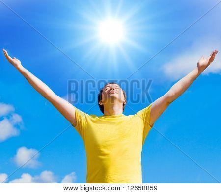 Sun gives me life