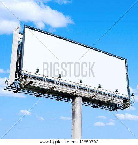 Billboard ist ein großer Raum