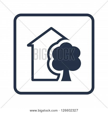 Ecology Tree Icon In Vector Format. Premium Quality Ecology Tree Symbol. Web Graphic Ecology Tree Si