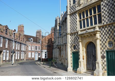 Guildhall Kings Lynn  Norfolk with street view