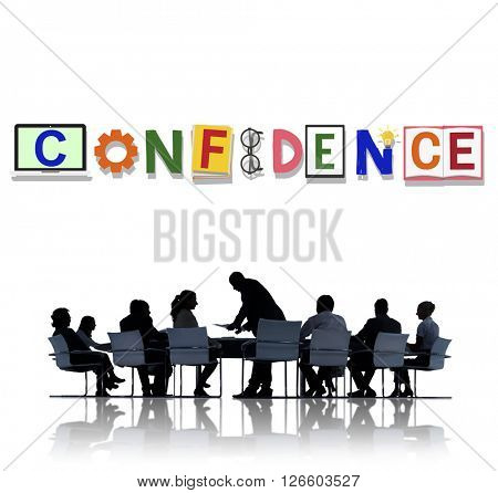 Confidence Conviction Belief Faith Reliability Trust Concept