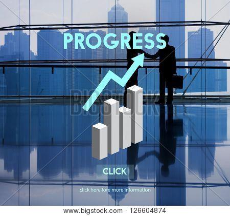 Progress Advance Growth Improvement Better Concept