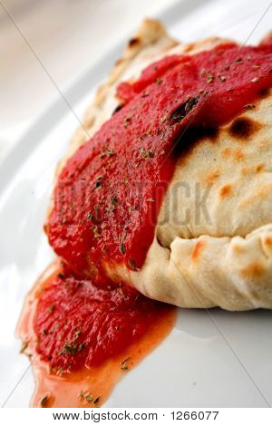 Delicious Calzone - Italian Food