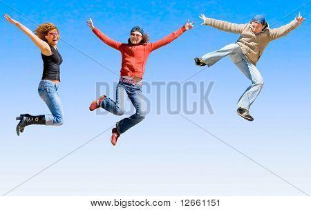 Yeah! Jump free!