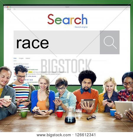 Race Racial Ethnicity Diversity Associate Community Concept