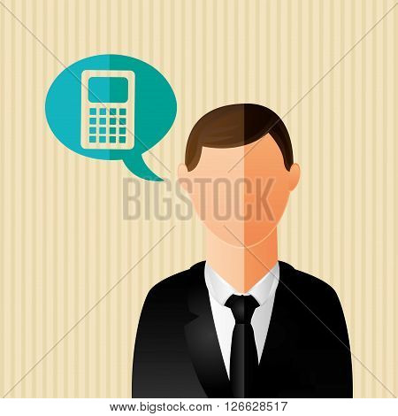 business person design, vector illustration eps10 graphic