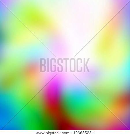 abstract curved blurry spots, grunge background