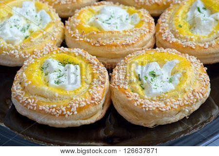 Creamy Cheese And Pastry