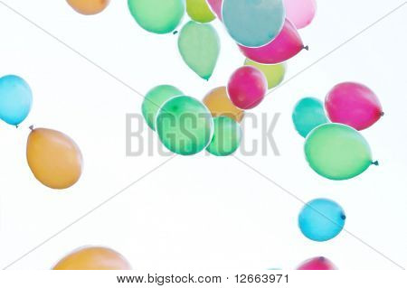 funny balloons fly away