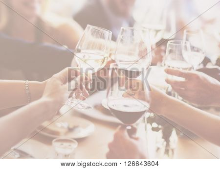 Business People Party Celebration Success Concept