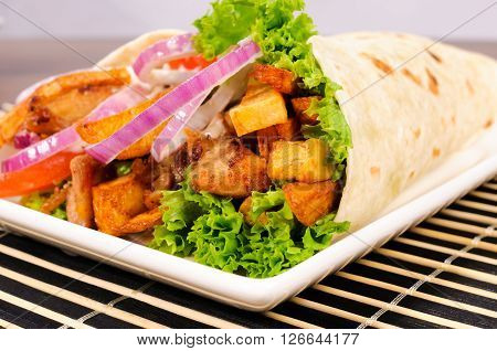Close Up To Kebab