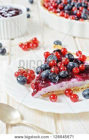Slice Of Tart Cake
