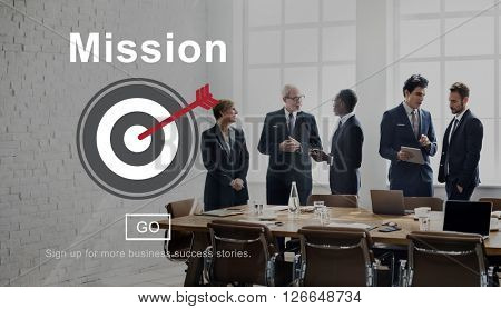 Mission Goals Target Aspirations Motivation Strategy Concept