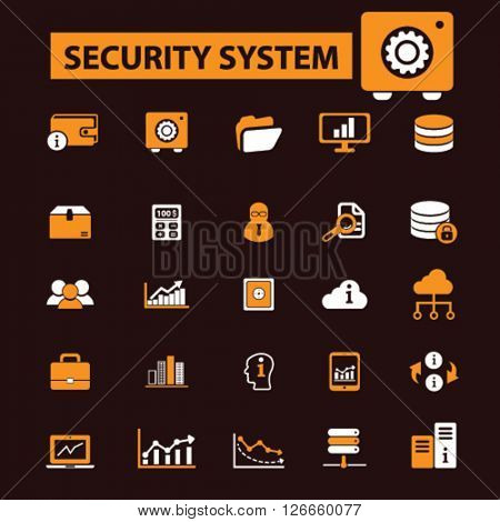 security system icons