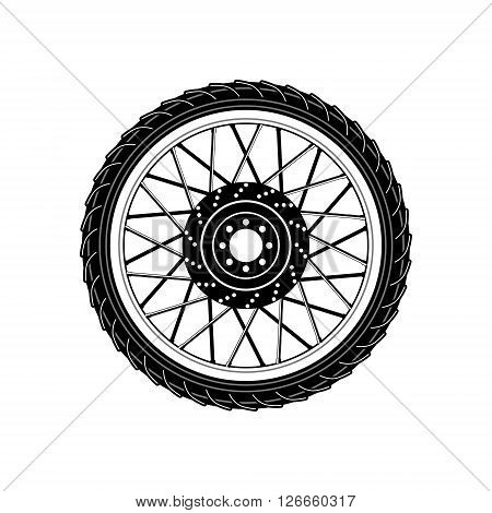 Wheel Icon. Wheel Icon sign. Design element in vector.