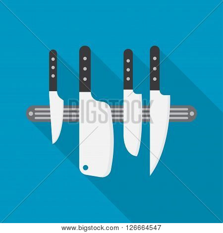 Kitchen knives chef knife kitchen knives vector