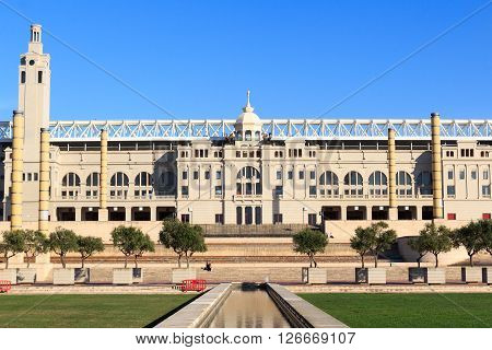 Barcelona Olympic Stadium And Olympic Park (anella Olimpica)
