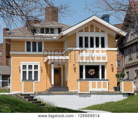 Stucco Urban House