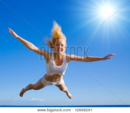 Parachuting from the sun